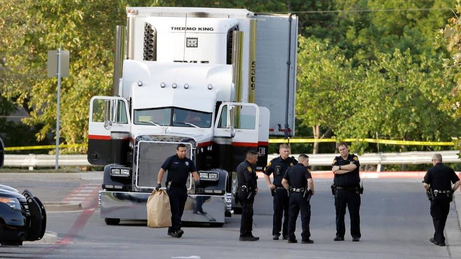 People were found inside tractor-trailer at a San Antonio Walmart