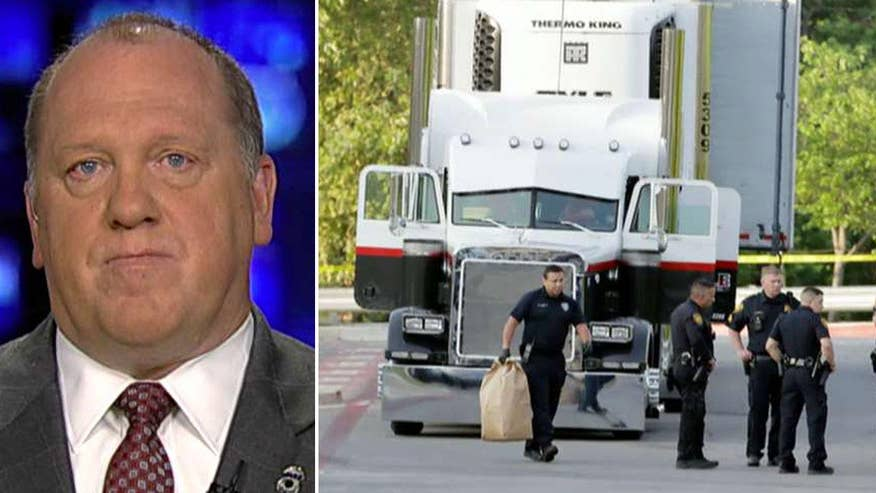 Acting ICE director speaks out about the truck tragedy