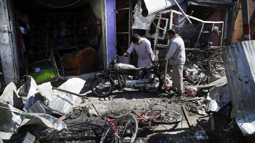 At least 24 killed, 42 wounded in suicide bombing; Greg Palkot reports