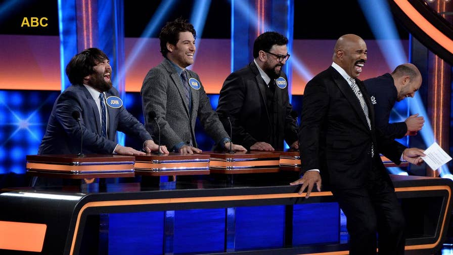 Fox411: 'Celebrity Family Feud' was all laughs as Hollywood's funniest men and women went head to head for charity