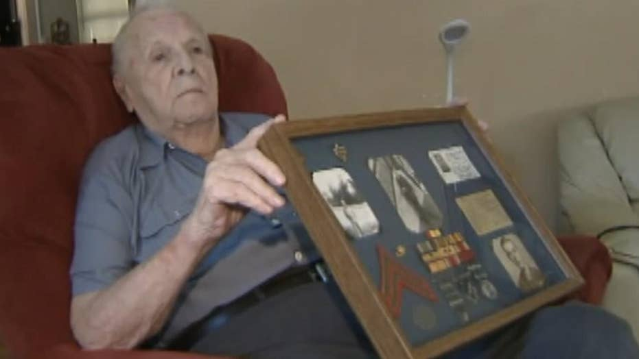 Legally blind veteran assaulted by would-be flag thieves