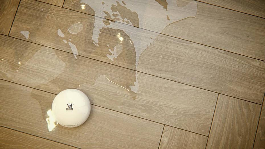 Detecting water leaks in your home