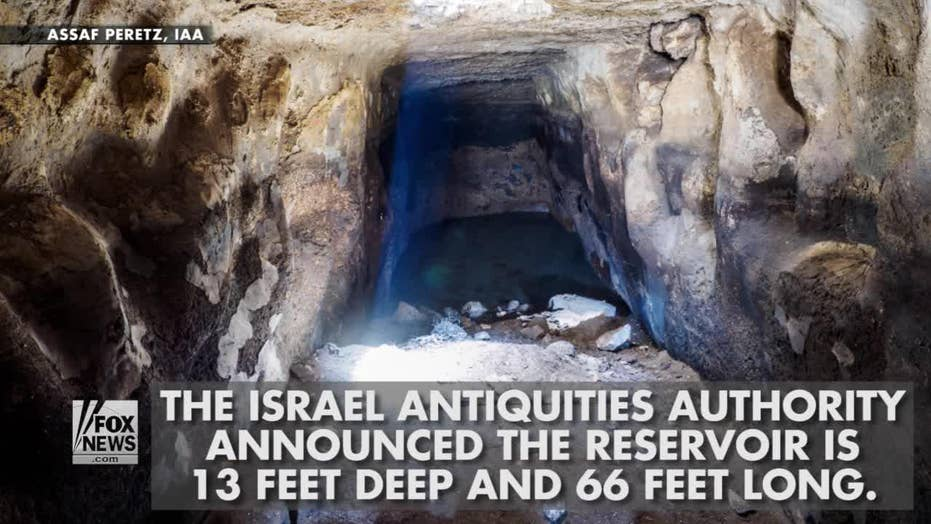 2,700-year-old reservoir discovered in Israel
