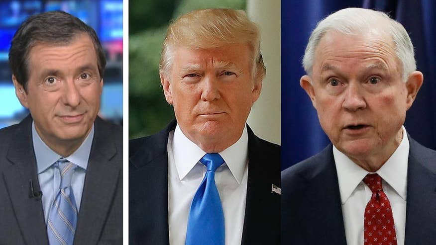 'MediaBuzz' host Howard Kurtz weighs in on the Twitter war brewing between President Trump and Attorney General Jeff Sessions