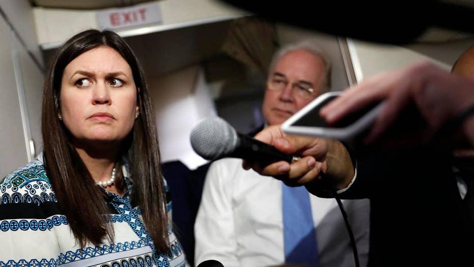 Huckabee Sanders called 'Butch Queen' and Left is silent
