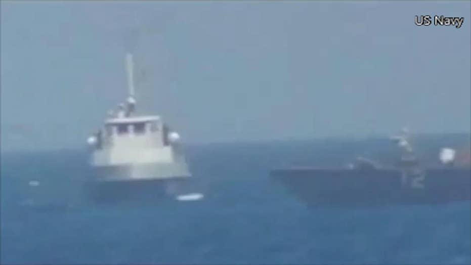 USS Thunderbolt fires warning shots at Iranian vessel