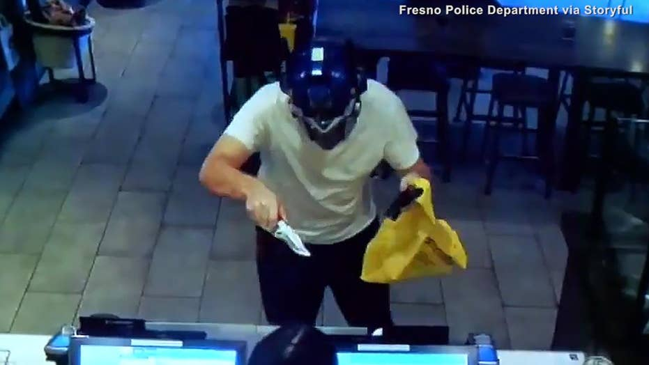 Video shows patron take on robber at California Starbucks