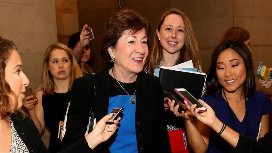 Sen. Collins calls GOP Rep. 'Unattractive' on hot mic
