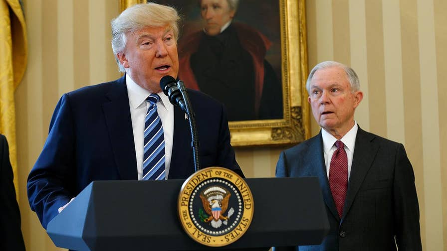 Jeff Sessions became one of Donald Trump's biggest cheerleaders during the campaign, but his relationship with Trump appears to have soured. From endorsements to serving at the pleasure of the president, a look back at their relationship