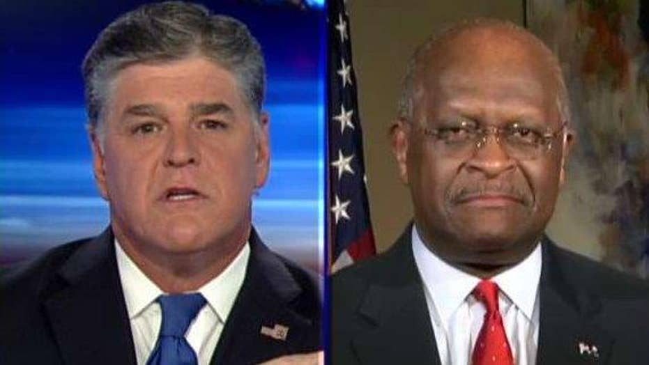 Herman Cain: President Trump is reasserting results