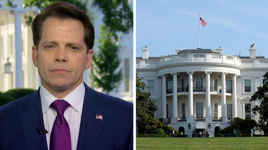 Scaramucci talks plugging WH leaks, criticism of Sessions