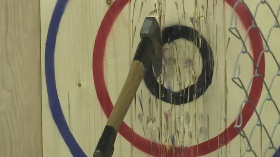 Competitive ax-throwing gains popularity in Pa.
