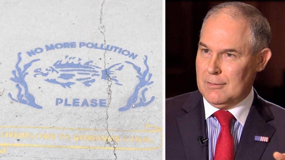 EPA chief Scott Pruitt shifts focus to Superfund cleanups