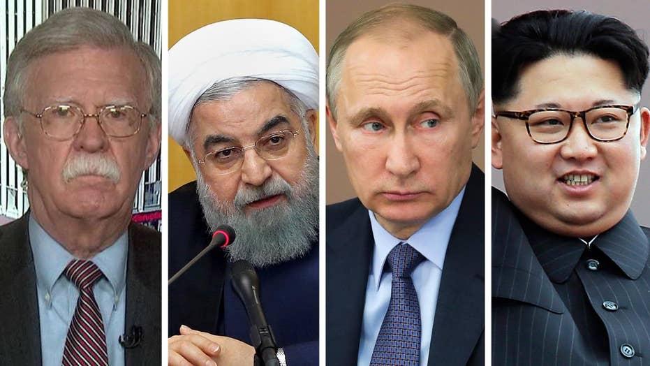 Bolton: Sanctions bill on Iran, Russia, NKorea not enough