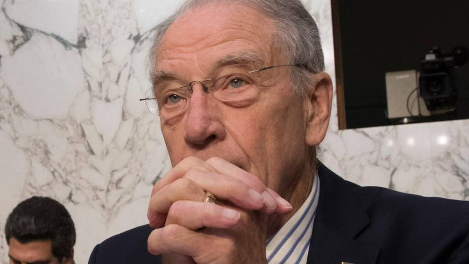 Grassley: Fusion GPS founder agrees to discuss Trump dossier