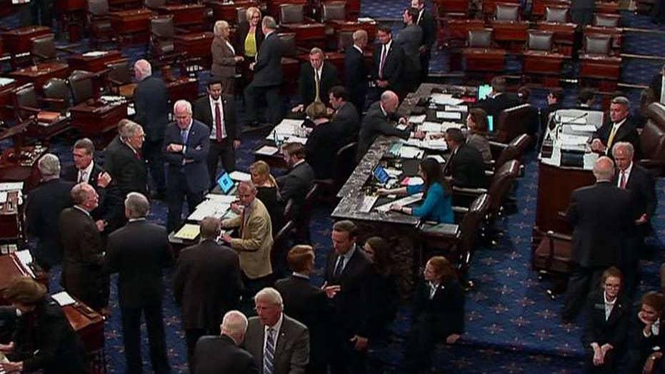Senate vote on amendment to repeal ObamaCare fails