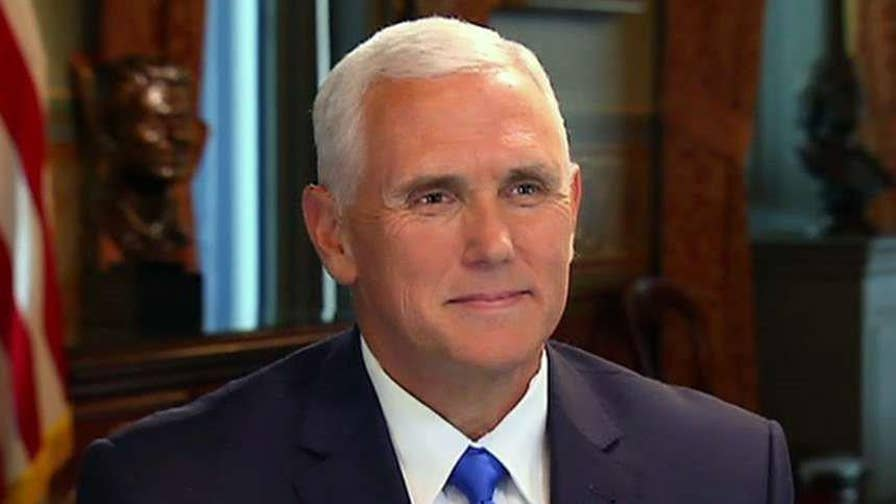 VP Mike Pence sounds off on president's Twitter attacks on the attorney general, saying the American people appreciate his candor and that you always know where you stand with him. Plus, Pence's thoughts on sanctions on Russia