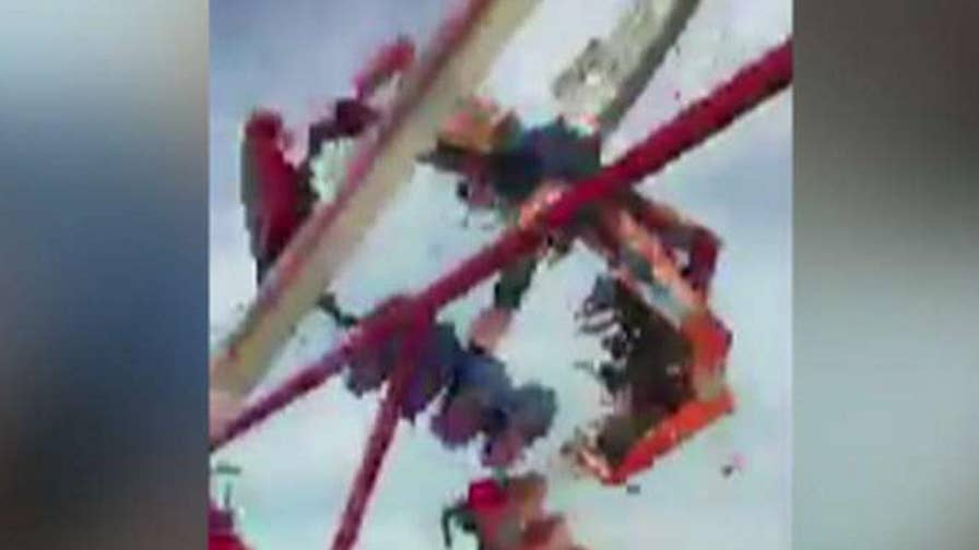Accident on Fair's opening day kills one person, injuries seven others