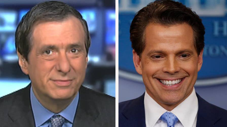 'MediaBuzz' host Howard Kurtz weighs in on reports that new White House Communications Director Anthony Scaramucci is blaming Chief of Staff Reince Priebus for leaks
