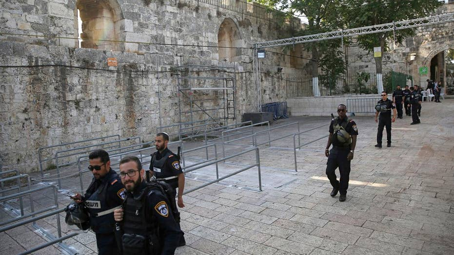 Muslim leaders urge a return to holy site in Jerusalem