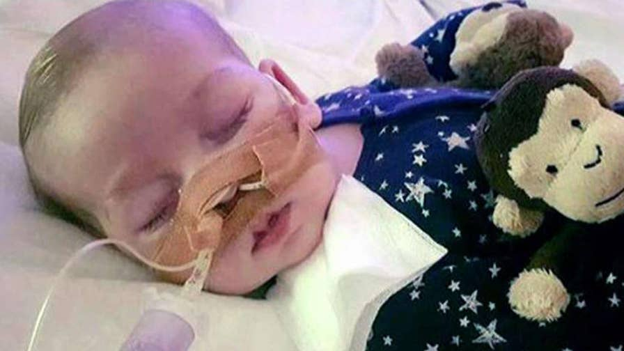 British baby boy born with rare genetic disorder was center of legal battle