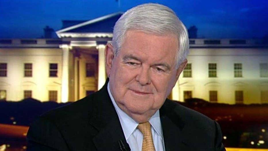 Gingrich: WH soap opera drowns Trump's accomplishments