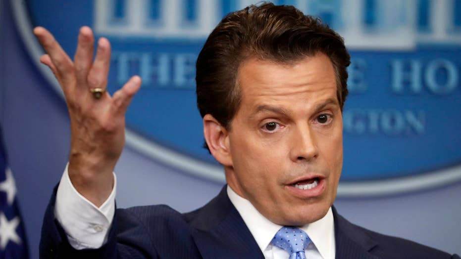 Culture shock: Does Scaramucci need to moderate tone for DC?