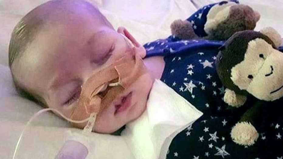 Report: Charlie Gard has died