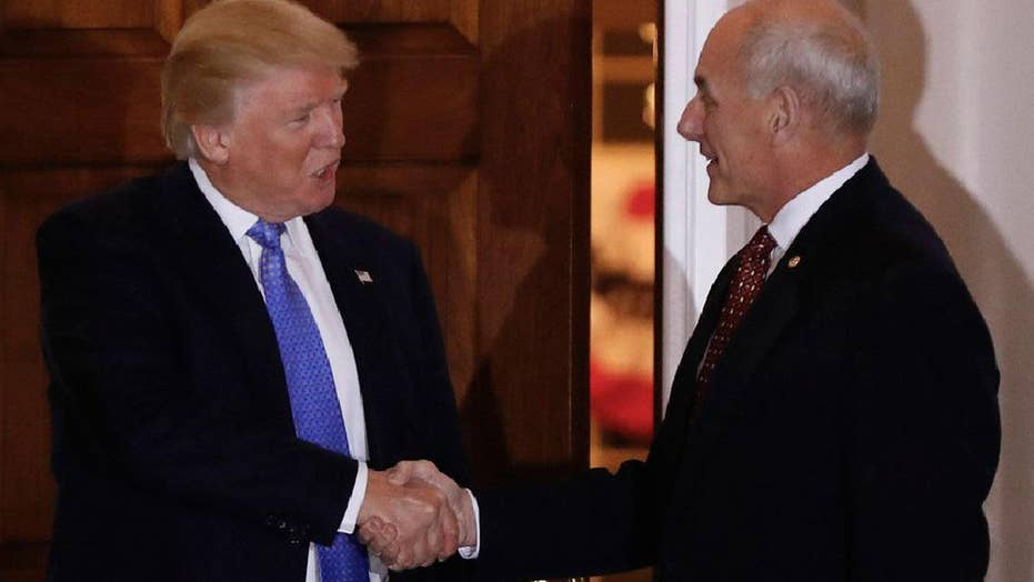 President Trump names Sec. Kelly as new chief of staff