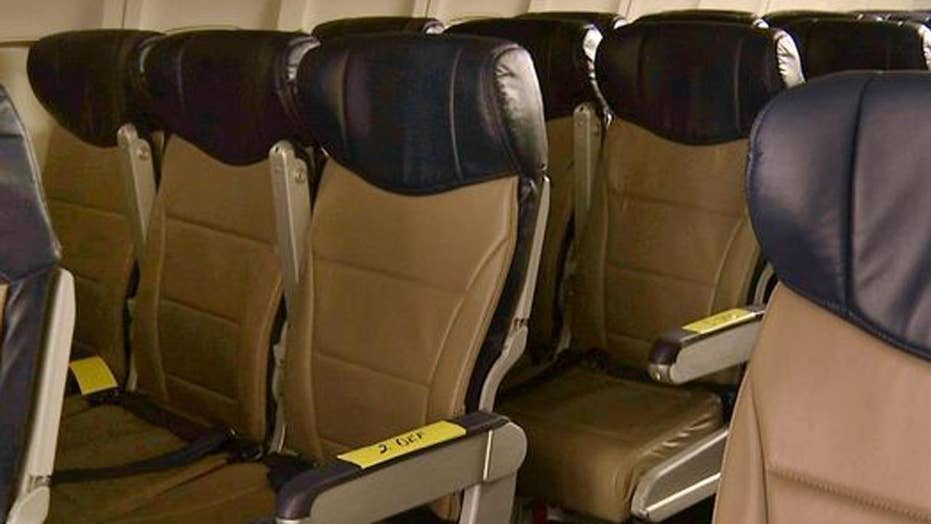 FAA ordered to reevaluate rules for plane seat sizes