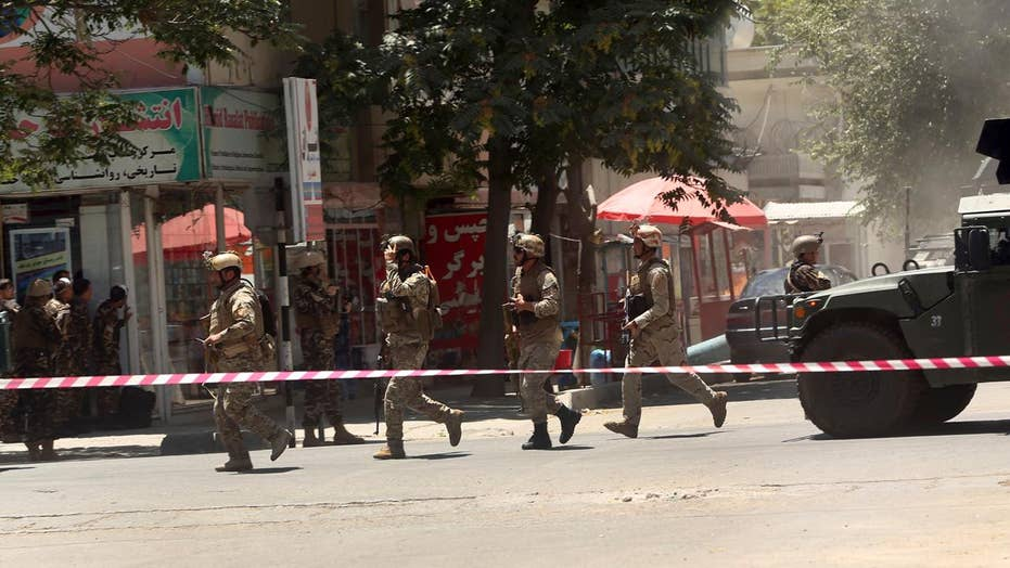 ISIS claims attack on Iraqi Embassy in Kabul