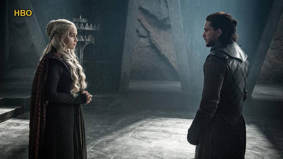 'Game of Thrones': Jon Snow and Daenerys Targaryen meet