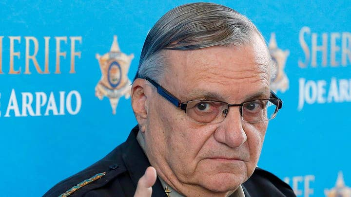 Former Sheriff Joe Arpaio found guilty of contempt of court