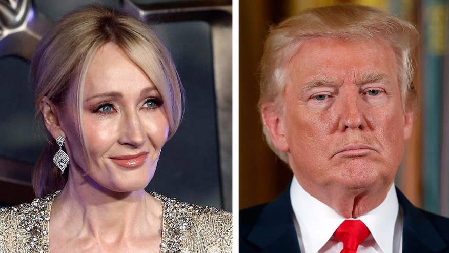 Fox411: 'Harry Potter' author J.K. Rowling has apologized for tweets she sent out claiming President Trump refused to shake the hand of a disabled boy
