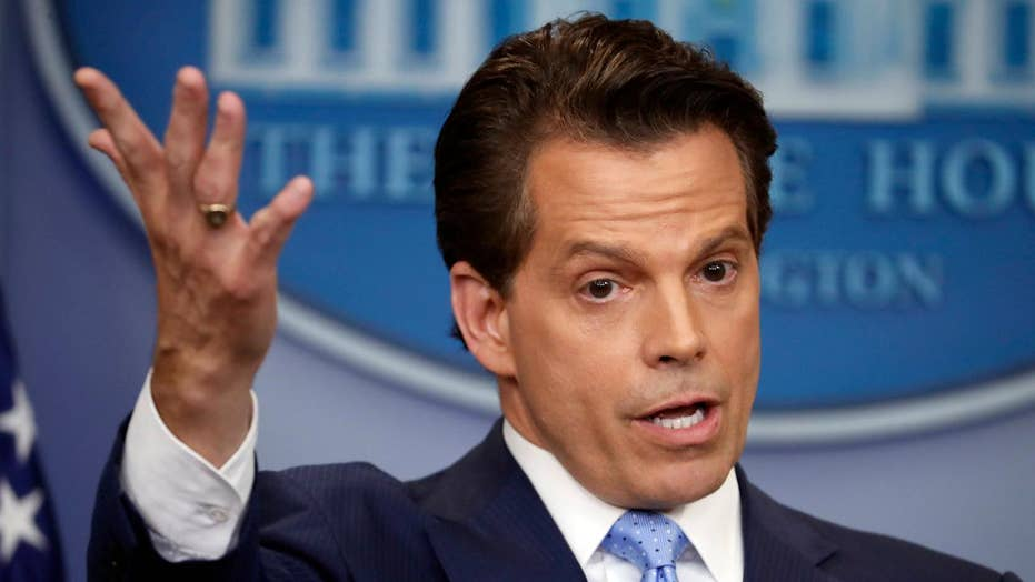 Behind Scaramucci's removal as WH communications director
