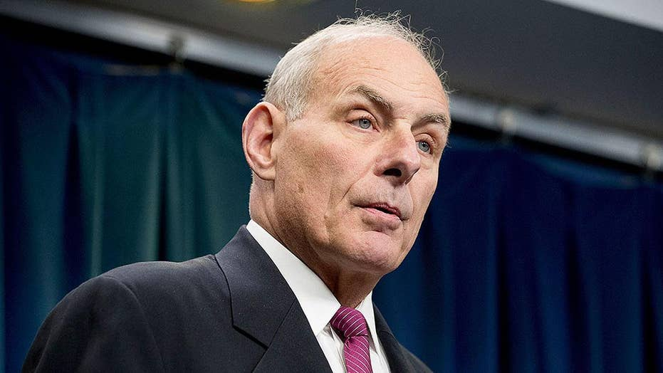 Gen. Kelly makes presence felt on first day at White House