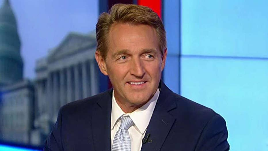 Sen. Flake takes on GOP rift in new book