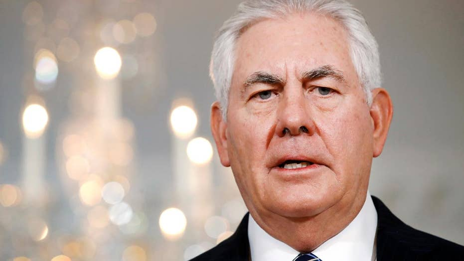 Tillerson says he wants to 'have a dialogue' with NKorea
