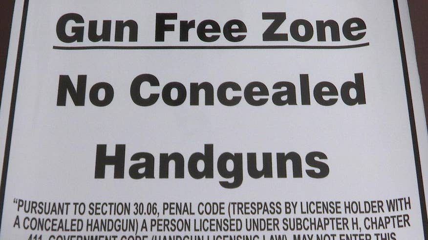 The bill allows licensed holders to carry concealed handguns in specific areas of college campuses