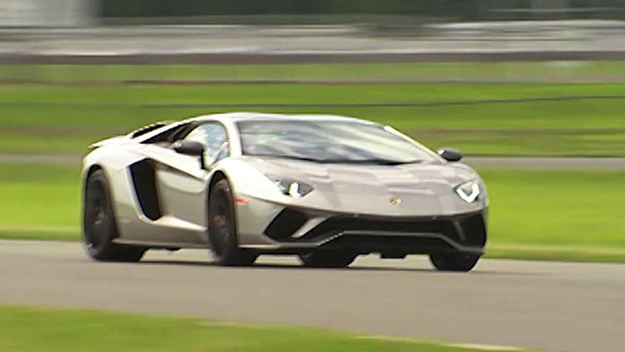 The 2017 Lamborghini Aventador S isn't the fastest car in the world, but FoxNews.com Automotive Editor Gary Gastelu isn't complaining