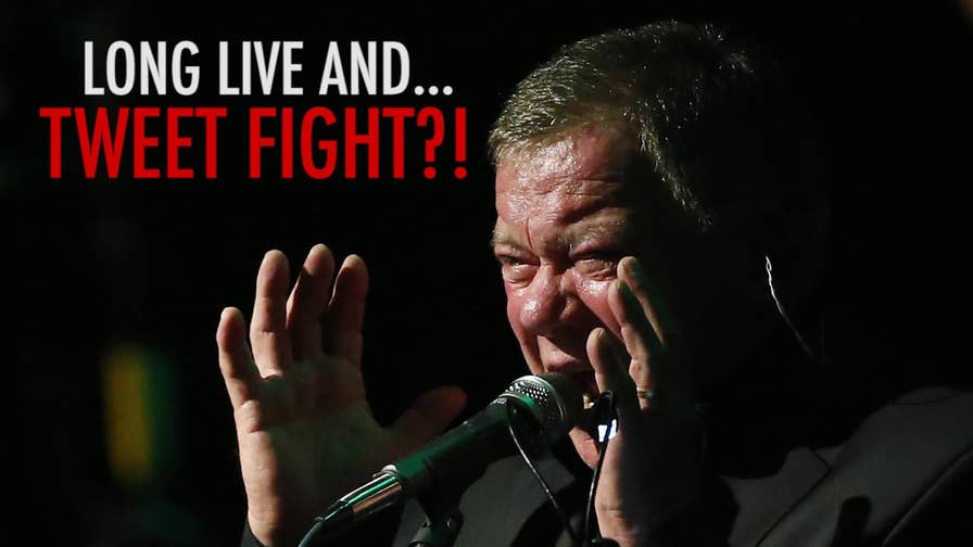 'Star Trek' actor William Shatner sounds off on social media over modern day social justice warriors setting off a twitter war
