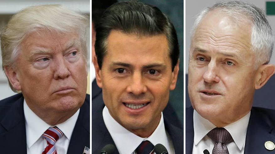Former adviser to four U.S. ambassadors to the United Nations says transcripts of the president's conversations with Mexican President Nieto and Australian Prime Minister Turnbull show 'tough' Trump pushing his agenda