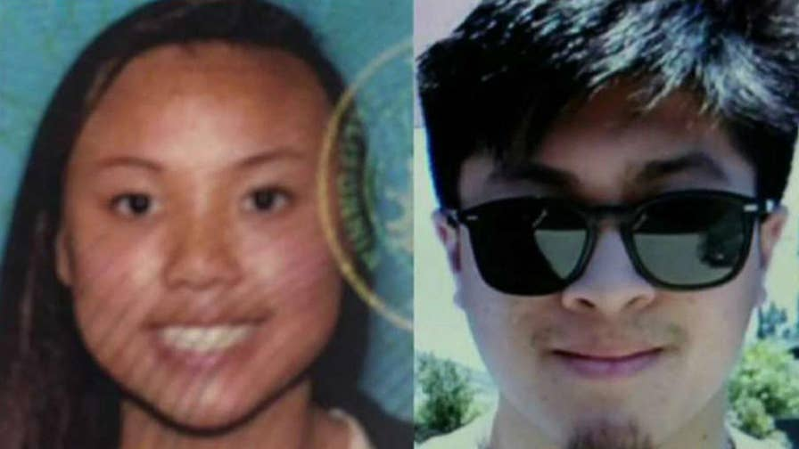 Officials say the pair was hiking in Joshua Tree National Park