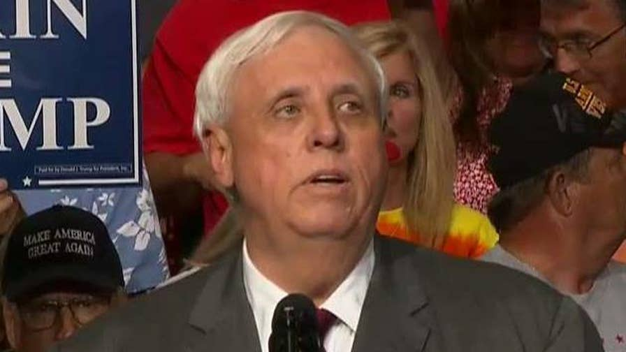 Gov. Jim Justice to constituents at Trump rally: 'I can't help you anymore' as a Democrat