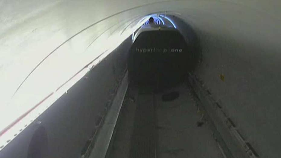 Hyperloop One rapid transit project hits speed milestone