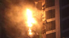 The fire torched 40 floors of an 86-story apartment building