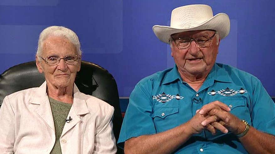 80-year-old Ray and Wilma Yoder will travel to Portland to visit 645th location