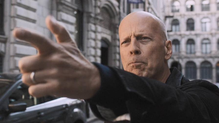 The remake of the 1974 Charles Bronson action film 'Death Wish' starring Bruce Willis has sparked controversy as critics claim it is 'tone-deaf', 'racist' and 'alt-right fan fiction'