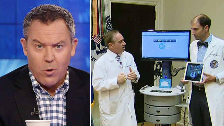 Gutfeld on health care improvements for vets