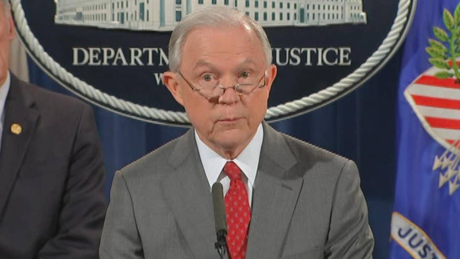 Sessions announces steps to crack down on leakers
